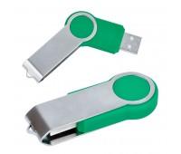 "USB flash-карта ""Swing"" (8Гб) Цвет: Зеленый"