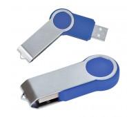 """USB flash-карта """"Swing"""" (8Гб) Цвет: Синий"""