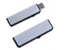 """USB flash-карта """"Pull"""" (16Гб) Цвет: серебристый, черный"""