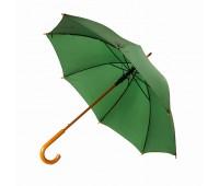 Зонт-трость SANTY, деревянная ручка, механический Цвет: Зеленый