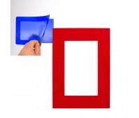 Фоторамка магнитная Цвет: Красный