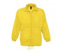 Ветровка водоотталкивающая унисекс SURF Цвет: Желтый