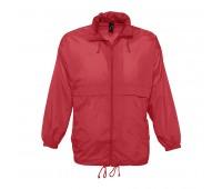 Ветровка водоотталкивающая унисекс SURF Цвет: Красный