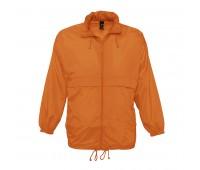 Ветровка водоотталкивающая унисекс SURF Цвет: Оранжевый