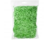Стружка бумажная декоративная, 2 мм, 56 гр Цвет: Зеленый