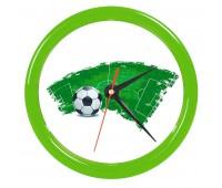 """Часы настенные """"PRINT"""" для рекламной вставки Цвет: Зеленый"""