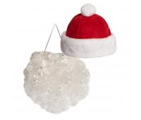 """Костюм карнавальный  """"Дед Мороз"""" для корпоративных мероприятий Цвет: Красный"""