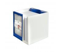 Календарь настольный  на 2 года с кубариком Цвет: Синий