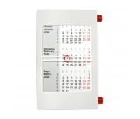 Календарь настольный на 2 года Цвет: Красный