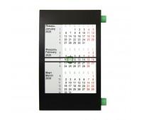 Календарь настольный на 2 года Цвет: Зеленый