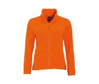 Толстовка женская флисовая NORTH WOMEN 300 Цвет: Оранжевый