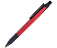 Ручка шариковая с грипом TOWER Цвет: Красный