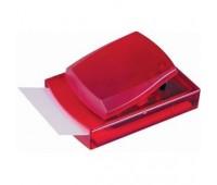 Диспенсер с листочками для заметок Цвет: Красный