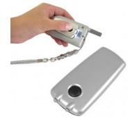 Подсветка для мобильного телефона на липучке Цвет: серебристый