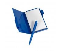 Блокнот для записей с авторучкой Цвет: Синий