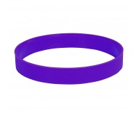 """Браслет силиконовый """"Фантазия-2"""";  D6,5см;  фиолетовый  Цвет: Фиолетовый"""