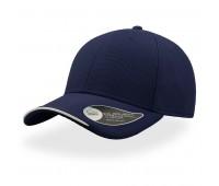 Бейсболка ESTORIL, 6 клиньев, застежка на липучке Цвет: Темно-синий