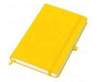"""Бизнес-блокнот A5 """"Justy"""" в линейку  Цвет: Желтый"""