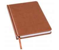 Ежедневник недатированный BLISS, формат А5 Цвет: Коричневый