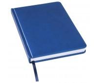 Ежедневник недатированный Bliss, А5,  синий, белый блок, без обреза Цвет: Синий