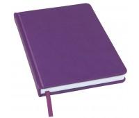 Ежедневник недатированный Bliss, А5,  фиолетовый, белый блок, без обреза Цвет: Фиолетовый