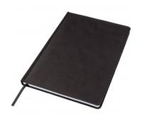 Ежедневник недатированный Bliss, А4,  черный, белый блок, без обреза Цвет: Черный