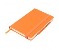 Ежедневник недатированный BARRY, формат А5 Цвет: Оранжевый