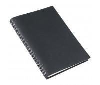Ежедневник недатированный FOGGY, формат А5 Цвет: Черный