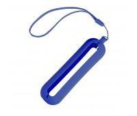 Обложка с ланъярдом к зарядному устройству SEASHELL-1 Цвет: Синий