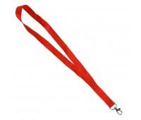 Ланъярд NECK, красный, полиэстер, 2х50 см Цвет: Красный