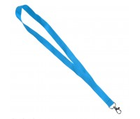 Ланъярд NECK, голубой, полиэстер, 2х50 см Цвет: Голубой