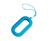 Обложка с ланъярдом к зарядному устройству SEASHELL-2 Цвет: Голубой