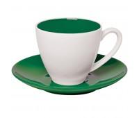 """Чайная пара """"Galena"""" в подарочной упаковке Цвет: Зеленый"""