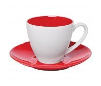 """Чайная пара """"Galena"""" в подарочной упаковке Цвет: Красный"""