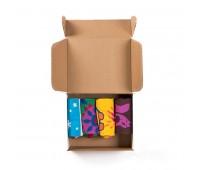 """Подарочный набор 4SEASONS"""", 4 пары тематических носков  Цвет: белый"""