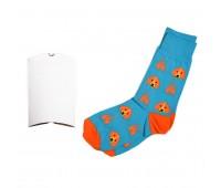 """Носки подарочные  """"Огненная собака"""" в упаковке Цвет: Бирюзовый"""