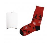 """Носки подарочные  """"Счастливый год"""" в упаковке Цвет: Черный"""
