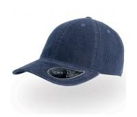 Бейсболка CREEP, 6 клиньев, металлическая застежка Цвет: Темно-синий