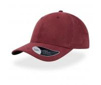 Бейсболка FAM, 6 клиньев, металлическая застежка Цвет: Бордовый