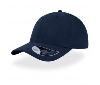 Бейсболка FAM, 6 клиньев, металлическая застежка Цвет: Темно-синий