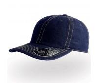 Бейсболка DAD HAT, 6 клиньев, металлическая застежка Цвет: Темно-синий