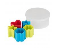 Набор формочек для печенья KENZZO (5 шт) в коробке Цвет: разные цвета