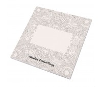 Альбом с раскрасками RUDEX (48 листов) Цвет: белый