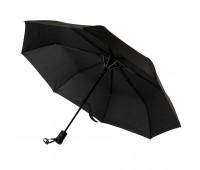 Зонт складной MANCHESTER, полуавтомат Цвет: черный