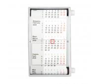 Календарь настольный для рекламных вставок Цвет: Белый