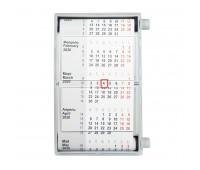 Календарь настольный для рекламных вставок Цвет: Серый