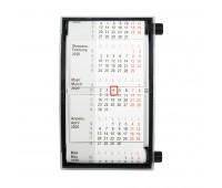 Календарь настольный для рекламных вставок Цвет: Черный