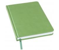 Ежедневник недатированный Bliss, А5, лаймовый, белый блок, без обреза Цвет: Зеленый
