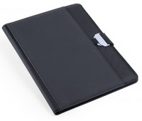 Папка BRETUX, черный, полиэстер, искусственная кожа Цвет: Черный