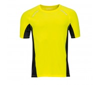 Футболка для бега SYDNEY MEN 180 Цвет: Желтый
